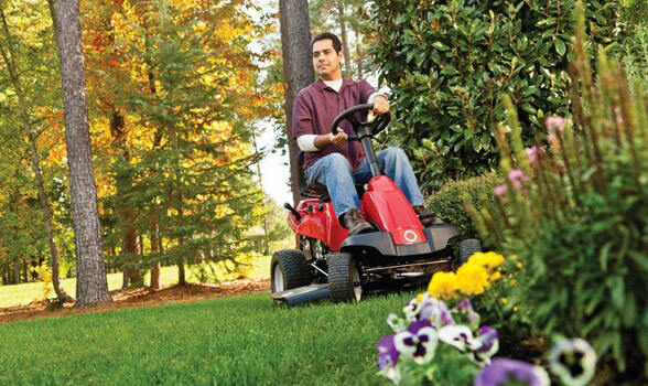a great little mower by Troy-Bilt
