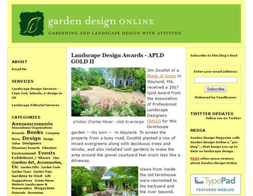 Garden Design Online screenshot