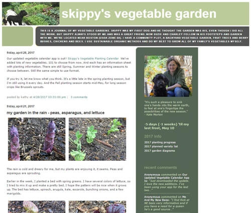 Skippy's Vegetable Garden shot