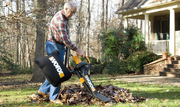 Worx WG505 Trivac Leaf Blower Vacuum Mulcher