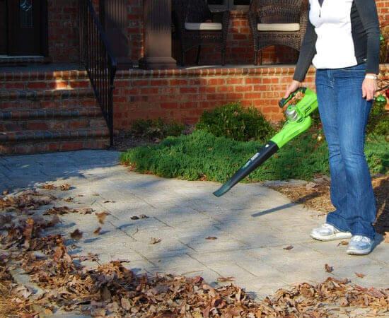 GreenWorks 24V cordless leaf blower