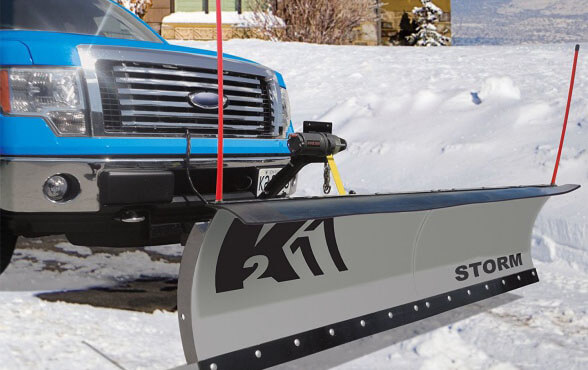 K2 Stor8422 Storm - the best snow plow for trucks