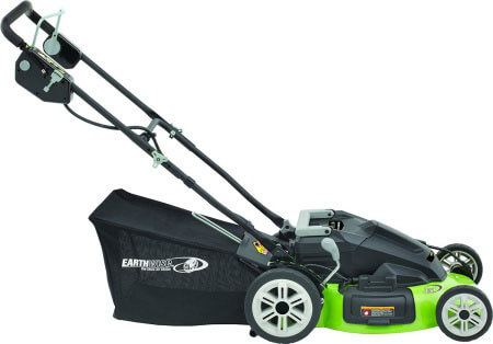 Earthwise 60236 - good cheap electric cordless mower