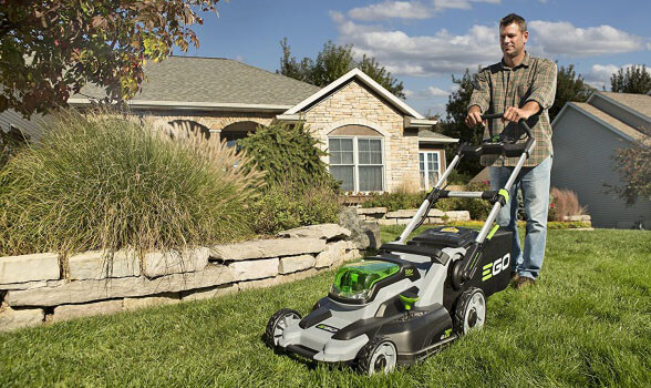 EGO Power Plus LM2000 - the best cordless electric lawn mower