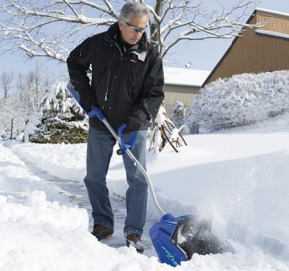 Snow Joe iON13SS - the best cordless electric snow shovel