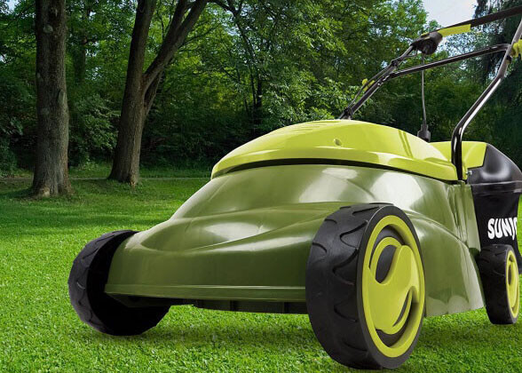 Sun Joe MJ401E - good small electric lawn mower