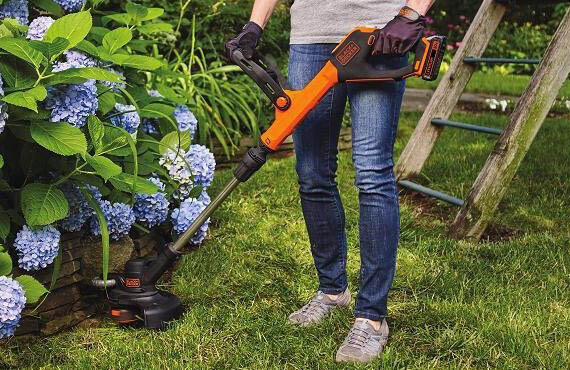 LSTE525 - good battery powered weed wacker - edger
