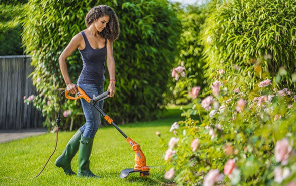 Worx WG119 - most innovative electric lawn trimmer