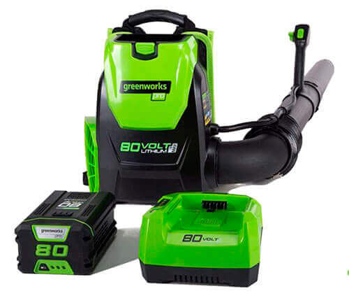 Greenworks BPB80L2510 Backpack Leaf Blower