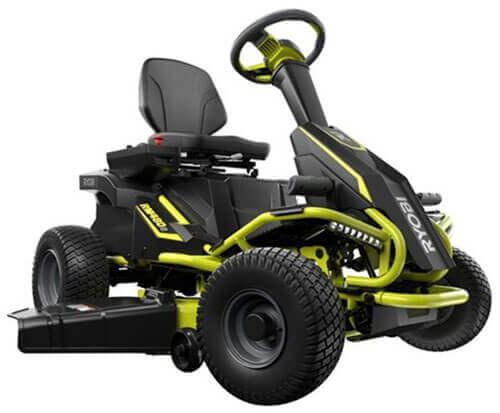 Ryobi 100 AH 38-Inch Electric Riding Mower