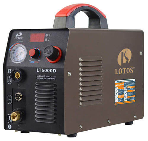 Lotos LT5000D 50 Amp Compact Inverter Plasma Cutter