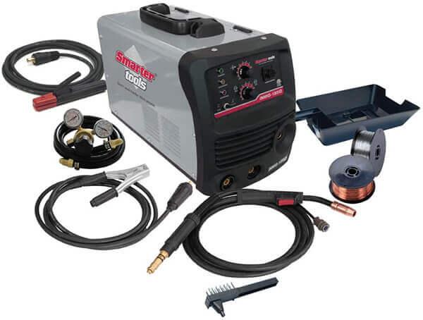 Smarter Tools INMIG-185iD Dual Voltage Inverter MIG/Stick Welder