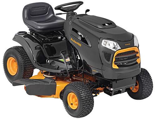 Poulan Pro PP19A42 riding lawn mower