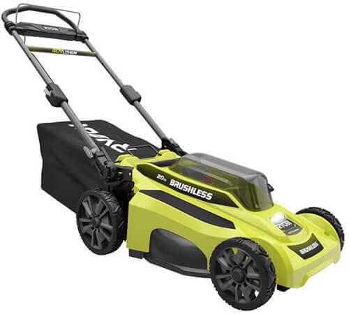 Ryobi RY401110-Y Cordless Battery Push Lawn Mower