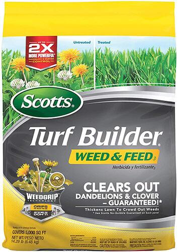 Scotts Turf Builder Weed & Feed Lawn Fertilizer