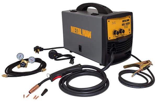 Metal Man MIG 180DVT Dual Voltage Wire Feed Welder
