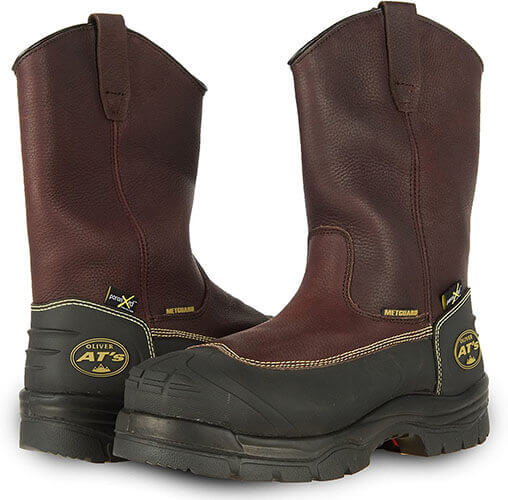 Oliver 65 Series 10-Inch Steel Toe Pull-On Boots